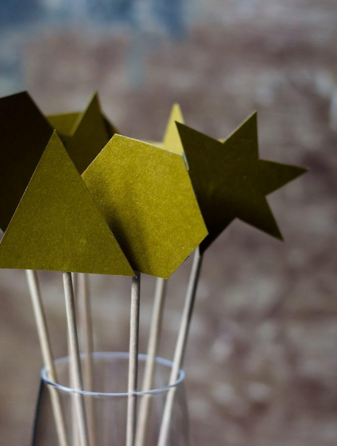 DIY – Schnelle und einfache Silvester Deko