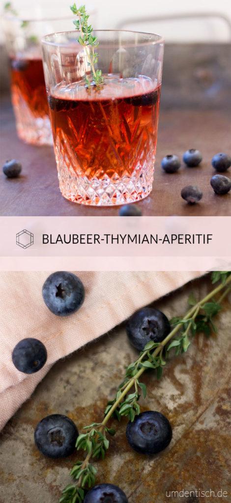 Frischer Thymian trifft auf fruchtige Blaubeeren und zusammen ergeben die zwei, sanfte und ganz wunderbare Aromen. Darüber ein leckerer Sekt und der perfekte (und hübsch anzusehende) Aperitif ist geboren. Das Rezept findet ihr auf meinem Blog (umdentisch.de) #aperitif #blaubeeren #thymian #sekt #drink #cocktail #foodphotography #valentinstag
