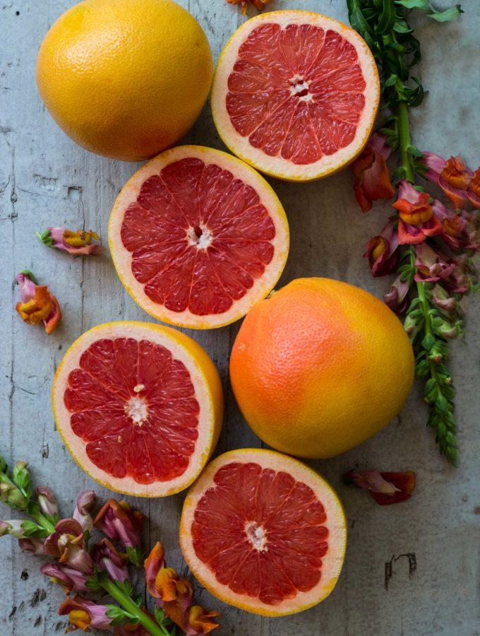 Dessert für viele Freunde: Grapefruit Mousse