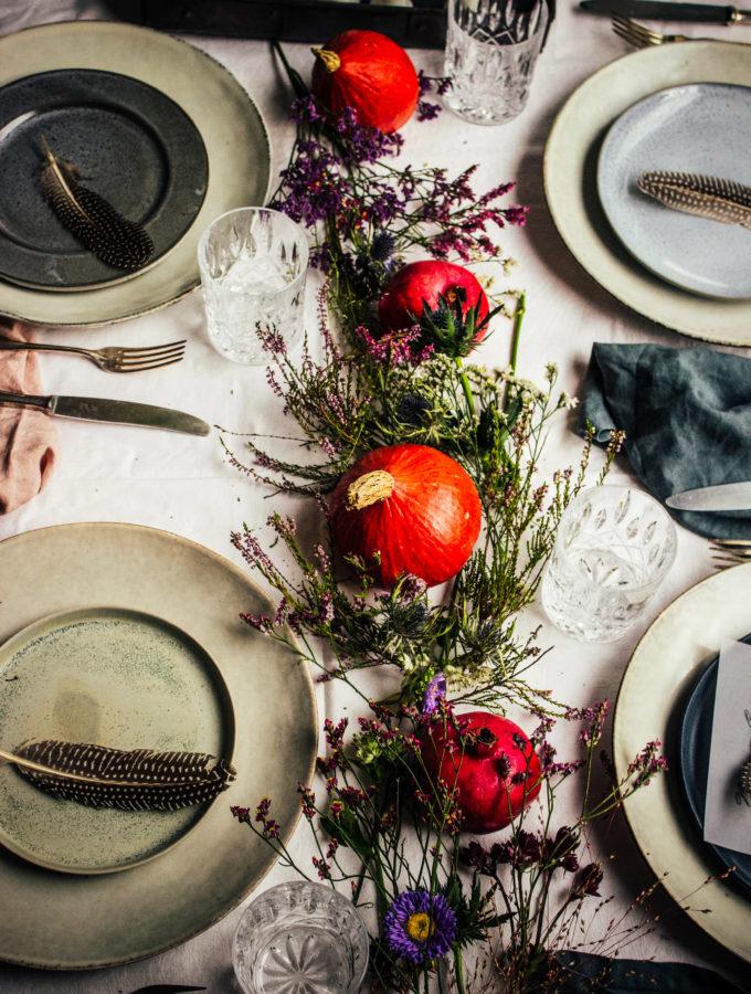 3 Tipps für eine einfache herbstliche Tischdeko