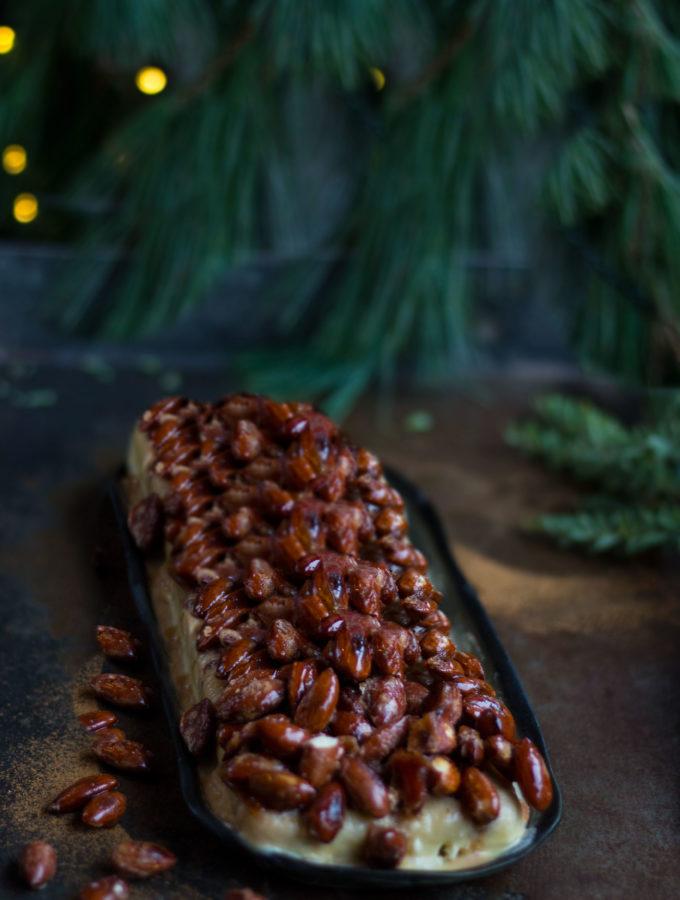 Weihnachtsdessert: Gebrannte Mandel-Parfait