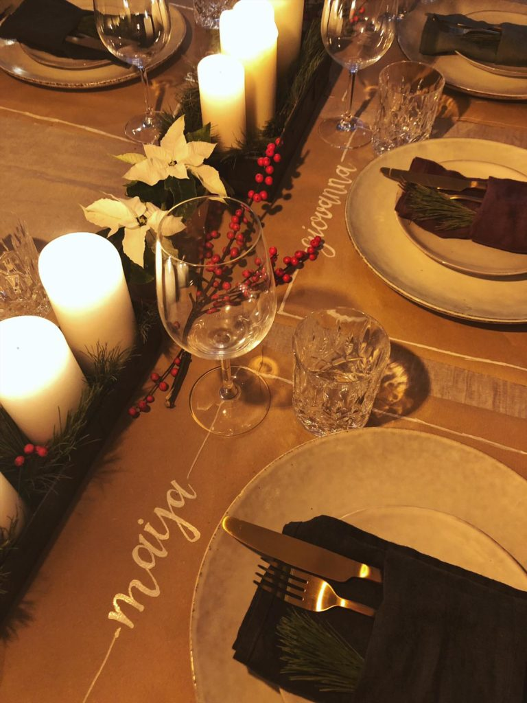Weihnachten Tischdeko