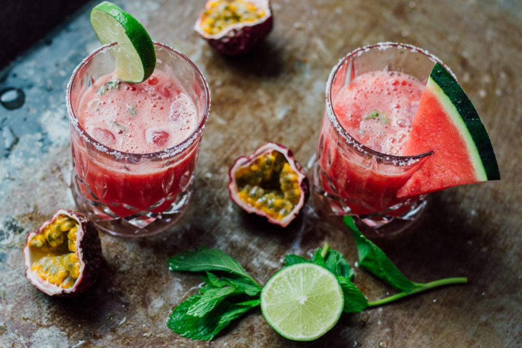 #umdentisch #wassermelone #maracuja #passionsfrüchte #margarita #sommerdrinks #sommer #drink #cocktail #rezept #schnellesrezept #einfach