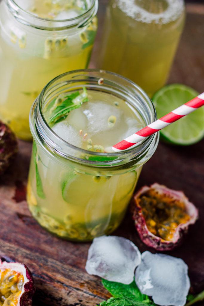 #maracuja #eistee #sommerdrink #gartenparty #passionfruit #icetea #schnellesgetränk #erfrischend #alkoholfrei